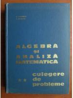 D. Flondor - Algebra si analiza matematica (volumul 2 - culegere de probleme)