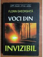 Anticariat: Florin Gheorghita - Voci din invizibil