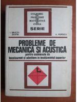 I. Druica Zeletin - Probleme de mecanica si acustica
