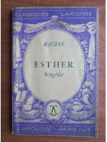 Racine - Esther (tragedie)