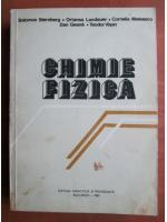 Anticariat: Solomon Sternberg - Chimie fizica