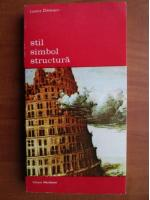 Anticariat: Lorenz Dittmann - Stil simbol structura