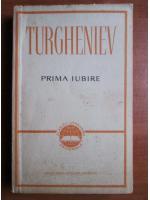 Anticariat: Ivan Sergheevici Turgheniev - Prima iubire