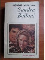 Anticariat: George Meredith - Sandra Belloni