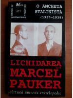 Lichidarea lui Marcel Pauker