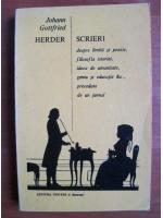 Anticariat: Johann Gottfried Herder - Scrieri