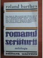 Anticariat: Roland Barthes - Romanul scriiturii