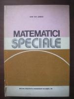 Anticariat: Ion Gh. Sabac - Matematici speciale (volumul 1)