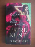Anticariat: Julia Quinn, Eloisa James, Connie Brockway - Patru nunti si o mostenire