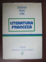 Literatura franceza (dictionar istoric critic)