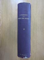 C. Hamangiu - Tratat de drept civil roman (volumul 2, 1929)