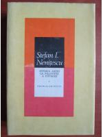 Anticariat: Stefan I. Nenitescu - Istoria artei ca filosofie a istoriei (volumul 1)