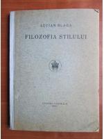 Anticariat: Lucian Blaga - Filozofia stilului (1924)