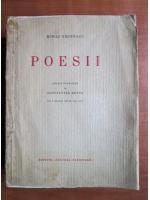 Anticariat: Mihai Eminescu - Poesii (editie de Constantin Botez, 1933)