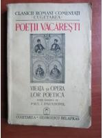 Poetii Vacaresti - Vieata si opera lor poetica (1940)