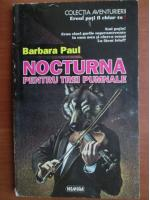 Anticariat: Barbara Paul - Nocturna pentru trei pumnale