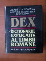 Anticariat: DEX - Dictionarul Explicativ al Limbii Romane (editia 1998)