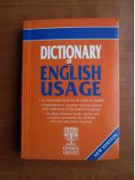 Anticariat: Dictionary of english usage