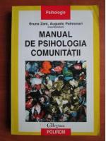 Bruna Zani - Manual de psihologia comunitatii