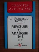 Constantin Radulescu Motru - Revizuiri si adaugiri 1948 (volumul 6)