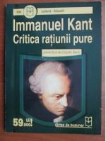 Immanuel Kant - Critica ratiunii pure (prezentare de Claudiu Baciu)