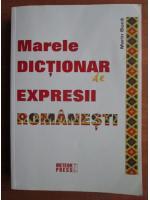 Anticariat: Marin Buca - Marele dictionar de expresii romanesti