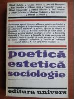 Anticariat: Mihail Bahtin - Poetica estetica sociologie