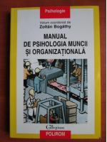 Zoltan Bogathy - Manual de psihologia muncii si organizationala