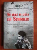 Leon Leyson - Un baiat pe lista lui Schindler