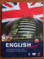 Anticariat: English today. Curs de limba engleza, vol. 25