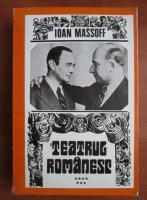 Ioan Massoff - Teatrul romanesc (volumul 7)