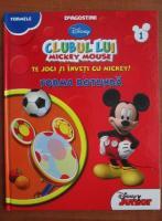 Anticariat: Clubul lui Mickey Mouse. Te joci si inveti cu Mickey! Forma rotunda