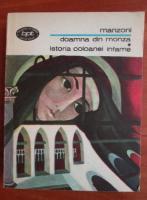 Anticariat: Manzoni - Doamna din Monza. Istoria coloanei infame