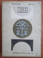 Barbu Theodorescu - Folclor literar romanesc