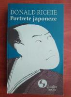 Anticariat: Donald Richie - Portrete japoneze