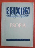 Anticariat: Esopia (editie de I. C. Chitimia)