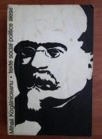 Anticariat: Mihail Kogalniceanu - Texte social-politice alese
