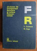 T. Contescu - Dictionar de transporturi feroviare si rutiere francez-roman