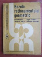 Anticariat: Dan Branzei - Bazele rationamentului geometric