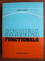 Anticariat: Dumitru Gaspar - Analiza functionala