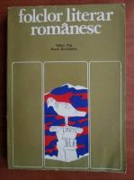 Mihai Pop - Folclor literar romanesc