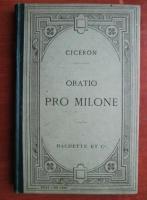 Ciceron - Oratio pro milone