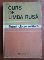 Curs de limba rusa. Terminologie militara
