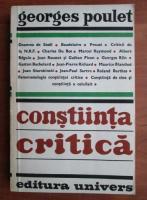 Georges Poulet - Constiinta critica