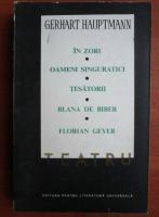 Anticariat: Gerhart Hauptmann - Teatru (volumul 1)