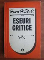 Anticariat: Henri H. Stahl - Eseuri critice despre cultura populara romaneasca