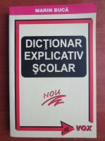 Marin Buca - Dictionar explicativ scolar