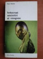 Anticariat: Petre Pandrea - Brancusi. Amintiri si exegeze