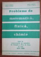 Anticariat: Vasile Chiriac - Probleme de matematica. fizica, chimie