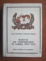 Anticariat: Dan Dutescu - Manual de conversatie in limba engleza